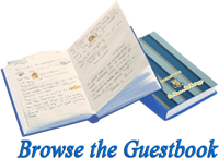 Browse the Guestbook